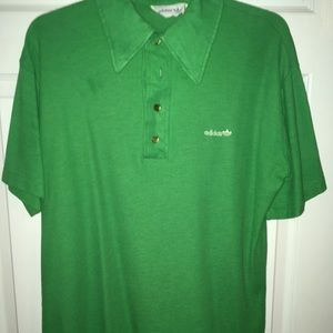 Adidas Retro Polo Green